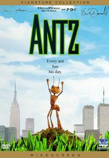 Antz 1998 DVD Cover