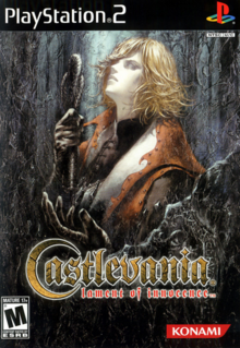 Castlevania Lament of Innocence 2003 Game Cover