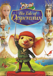 The Tale of Despereaux 2008 DVD Cover