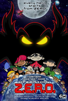 Codename Kids Next Door Operation Z.E.R.O. 2006 Poster