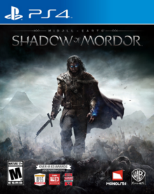 Middle-earth Shadow of Mordor 2014 Game Cover