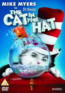 Dr. Seuss' The Cat in the Hat 2003 DVD Cover