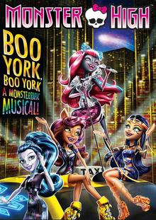 Monster High Boo York, Boo York 2015 DVD Cover