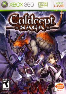 Culdcept Saga 2008 Game Cover