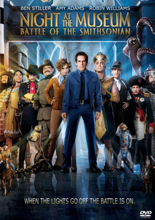 Night at the Museum Battle of the Smithsonian 2009 DVD Cover