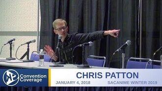 Chris Patton SacAnime Winter 2019
