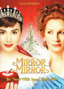 Mirror Mirror 2012 DVD Cover