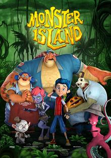 Monster Island 2017 Poster