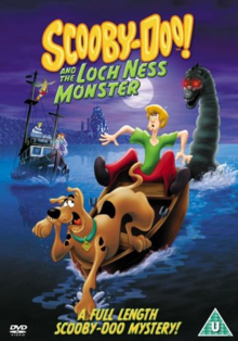 Scooby-Doo and the Loch Ness Monster 2004 DVD Cover