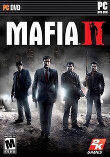 Mafia II 2010 Game Cover