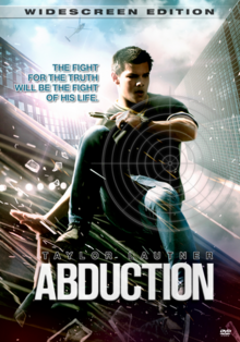 Abduction 2011 DVD Cover