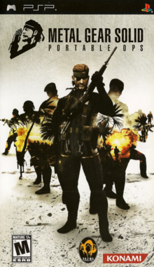 Metal Gear Solid Portable Ops 2006 Game Cover
