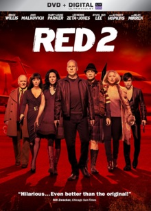 Red 2 2013 DVD Cover