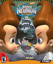 The Adventures of Jimmy Neutron Boy Genius vs. Jimmy Negatron 2002 Game Cover
