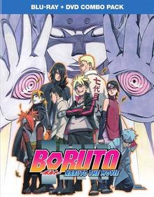 Boruto Naruto the Movie 2017 Blu-ray Cover
