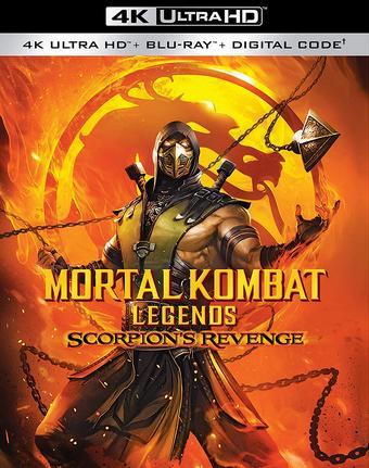 Mortal Kombat Legends Scorpion S Revenge 2020 English Voice