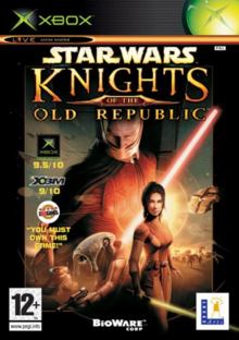 Star Wars Knights of the Old Republic 2003 Game Cover