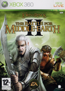The Lord of the Rings The Battle for Middle-earth II 2006 Game Cover