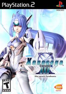 Xenosaga Episode III Also sprach Zarathustra 2006 Game Cover