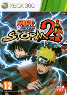 Naruto Shippuden Ultimate Ninja Storm 2 2010 Game Cover