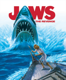 Jaws The Revenge 1987 BLU-RAY Cover