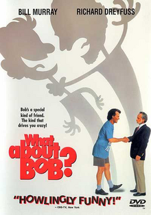 What About Bob? 1991 DVD Cover