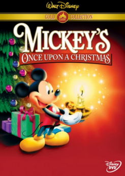 Mickey's Once Upon a Christmas 1999 DVD Cover