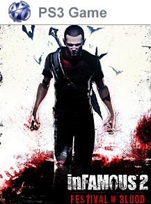 InFamous 2 Festival of Blood 2011 Game Cover
