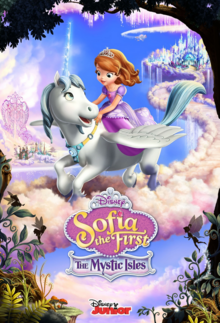 Disney Sofia the First The Mystic Isles 2017 Poster