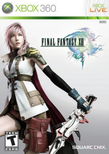 Final Fantasy XIII 2010 Game Cover