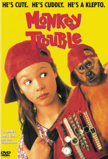 Monkey Trouble 1994 DVD Cover