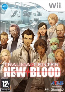 Trauma Center New Blood 2007 Game Cover