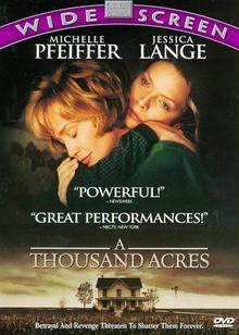 A Thousand Acres 1997 DVD Cover