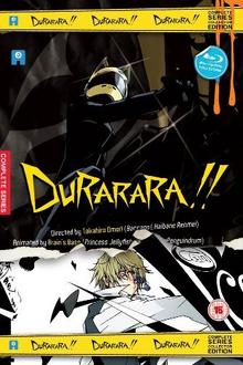Durarara!! 2011 Blu-Ray Cover