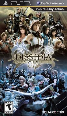 Dissidia 012 Final Fantasy 2011 Game Cover