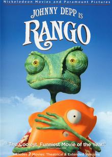 Rango 2011 DVD Cover