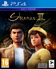 Shenmue III 2019 Game Cover
