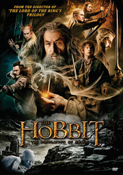 The Hobbit The Desolation of Smaug 2013 DVD Cover