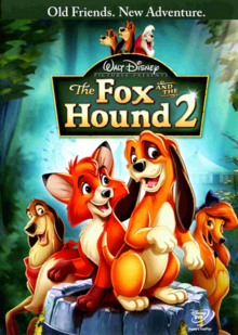 The Fox and the Hound 2 2006 DVD Cover