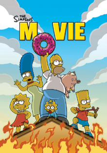 The Simpsons Movie 2007 Poster