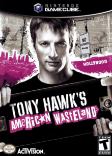 Tony Hawk's American Wasteland 2005 Game Cover