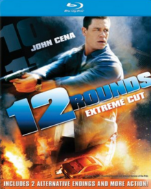 12 Rounds 2009 BLU-RAY Cover