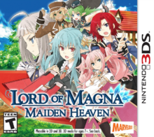 Lord of Magna Maiden Heaven 2015 Game Cover