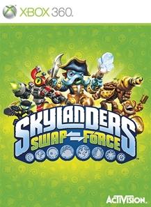 Skylanders Swap Force 2013 Game Cover