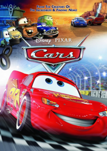 Cars 2006 DVD Cover