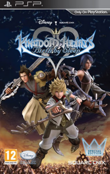Kingdom Hearts Birth by Sleep 2010 Game Cover
