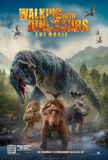 Walking with Dinosaurs 2013 Poster