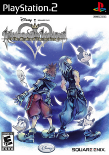 Kingdom Hearts Re Chain of Memories 2008 Game Cover