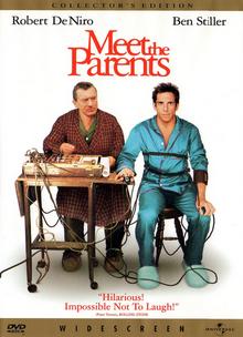 Meet the Parents 2000 DVD Cover