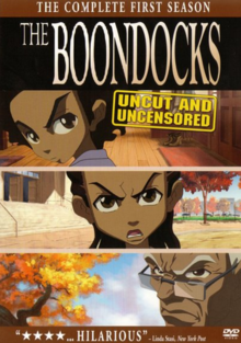 The Boondocks 2005 DVD Cover